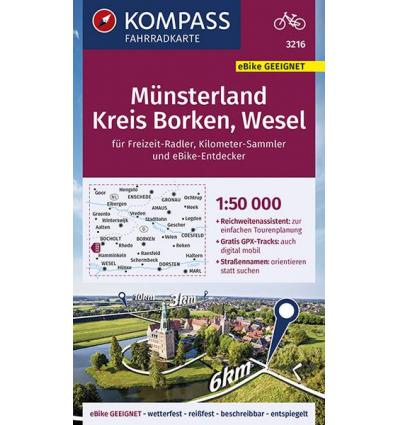 Kreis Wesel, mit Duisburg, Oberhausen, Kempen