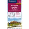 Wetterau, Vogelsberg, Marburg