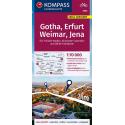 Gotha, Erfurt, Weimar, Jena