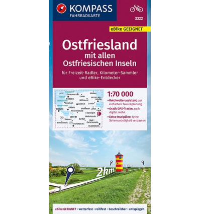 Ostfriesland mit allen Ostfriesischen Inseln