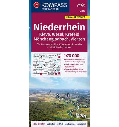 Niederrhein, Kleve, Wesel, Krefeld, Mönchengladbach, Viersen