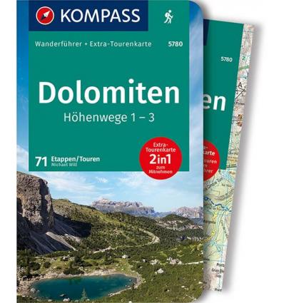 Dolomiten Höhenwege 1 - 3