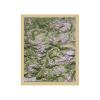 Carta di rilievo con cornice in legno Val di Fassa e Val Gardena
