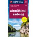 Altmühltalradweg guida in lingua tedesca