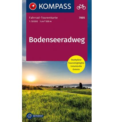 Bodenseeradweg guida in lingua tedesca