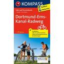 Dortmund-Ems-Kanal-Radweg guida in lingua tedesca