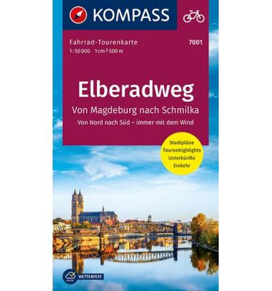 Elberadweg 1, Von Magdeburg nach Schmilka guida in lingua tedesca