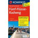Fünf-Flüsse-Radweg guida in lingua tedesca