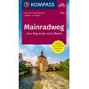 Mainradweg, Von Bayreuth nach Mainz guida in lingua tedesca