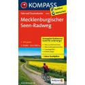 Mecklenburgischer Seen-Radweg guida in lingua tedesca