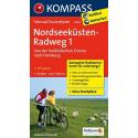 Nordseeküsten-Radweg 1, Von der holländischen Grenze nach Hamburg guida in lingua tedesca