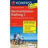 Nordseeküsten Radweg 2, Von Hamburg zur dänischen Grenze guida in lingua tedesca